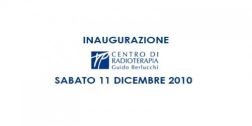 Inaugurazione Nuovo Centro di Radioterapia G. Berlucchi