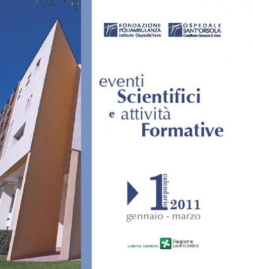 Catalogo Eventi Formativi settembre - dicembre 2010