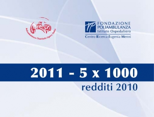 5 x 1000 2011 - Importanti novità