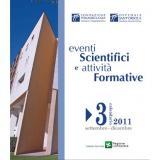 Pubblicato il Catalogo Eventi Formativi settembre - dicembre 2011