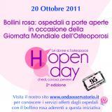 Giornata Mondiale dell'Osteoporosi: visite gratuite all'Ospedale S. Orsola
