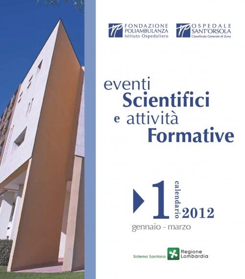 Pubblicato il Catalogo Eventi Formativi gennaio - marzo 2012