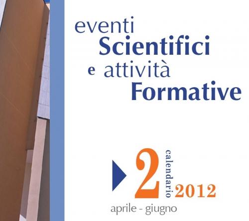 Pubblicato il Catalogo Eventi Formativi aprile - giugno 2012
