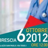 Il Ministro della Salute Balduzzi a Brescia il 06/10/12