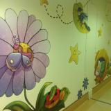 Pediatria a colori 2013: conclusa la decorazione dell'U.O.