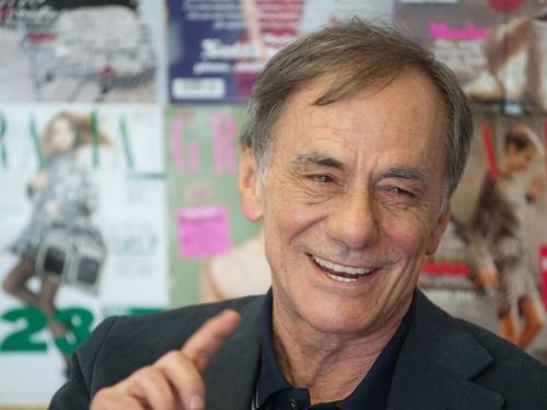 Prof. Roberto Vecchioni alla presentazione Bilancio Sociale 2014 ed inaugurazione Libreria