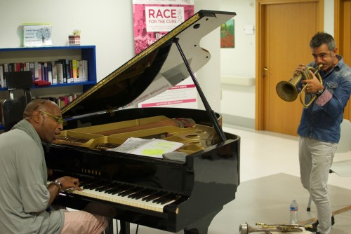 Paolo Fresu e Omar Sosa. Un concerto per i pazienti