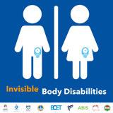 Invisible body disability: l'adesivo per bagni pubblici dedicato alle persone stomizzate