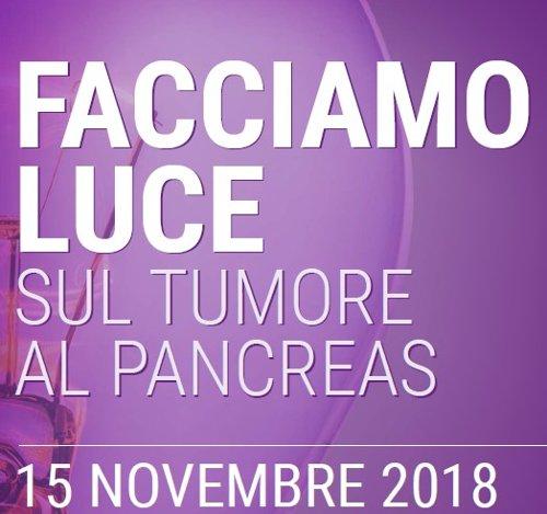 Poliambulanza si illumina di viola in occasione della Giornata Mondiale per la Lotta al Tumore del Pancreas del 15/11