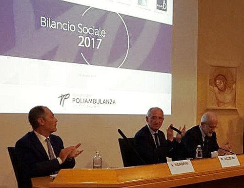 Presentato ieri, martedì 26 giugno 2018, il Bilancio Sociale 2017 di Poliambulanza