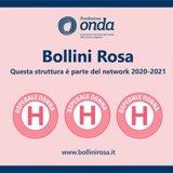 3 bollini rosa assegnati a Fondazione Poliambulanza