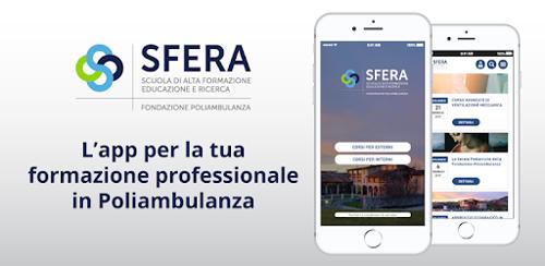 """Arriva l'App """"SFERA"""" della Scuola di Alta Formazione e Ricerca di Fondazione Poliambulanza"""