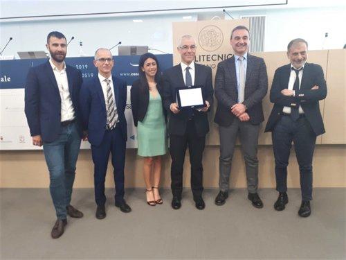 """Fondazione Poliambulanza premiata dal Politecnico di Milano per il progetto """"Le Tecnologie 'mobile' nella gestione clinica ospedaliera"""