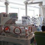 Grazie a Feralpisalò i prematuri nati in Poliambulanza possono ascoltare la voce della mamma all'interno della termoculla