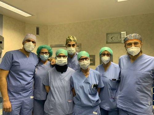 Nuovi approcci terapeutici: utilizzata per la prima volta in Poliambulanza la membrana amniotica per il trattamento del foro maculare traumatico