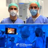 Poliambulanza, il robot consente un doppio intervento chirurgico su paziente nella stessa seduta