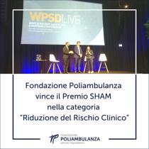 """Fondazione Poliambulanza vince il Premio Sham nella categoria """"Riduzione del Rischio Clinico"""""""