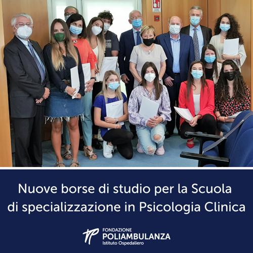 Poliambulanza rafforza la collaborazione con la Cattolica. Nuove borse di studio per la Scuola di specializzazione in Psicologia clinica.